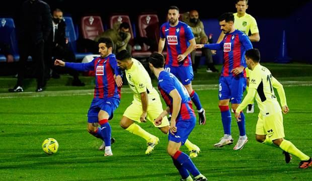 Atletico Madrid, Eibar'ı deplasmanda yendi!