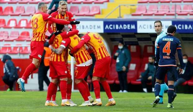 Başakşehir Kayseri'de Alibec'i durduramadı!