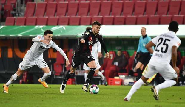 Bayern Münih deplasmanda Augsburg'u tek golle geçti