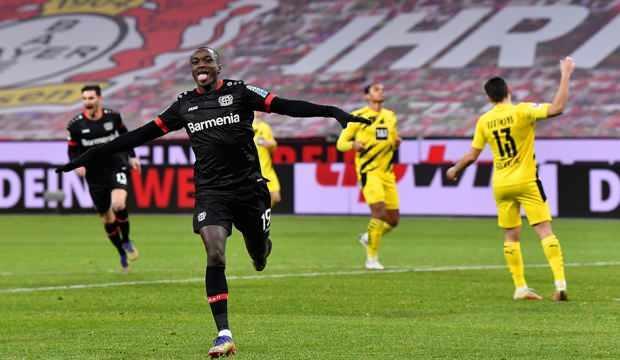 B.Leverkusen'in galibiyet hasreti Dortmund zaferiyle bitti