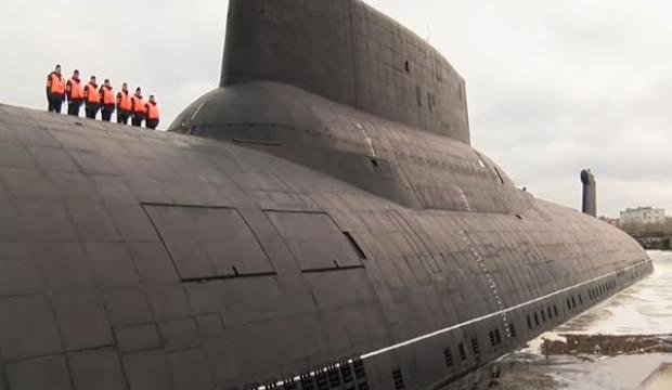 Dünyanın en büyük Rus denizaltısı emekliye ayrılıyor!