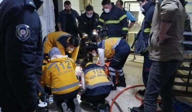 Ekmek fırınında kaynak yapan işçi, yük asansörünün altında kalarak öldü