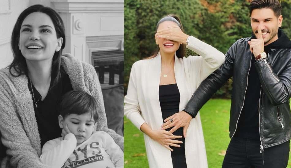 İkinci çocuğuna hamile olan Almeda Abazi'nin şaşırtan sosyal medya çıkışı!