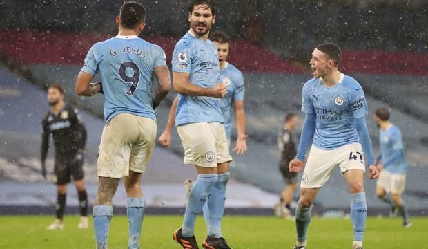Manchester City 6'da 6 yaptı!