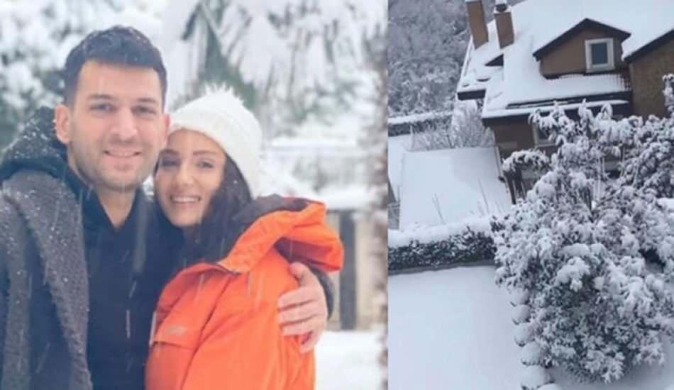 Murat Yıldırım'dan eşi İman Elbani için özel jest!