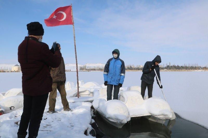 Günün en düşük sıcaklığı Sivas'ta gerçekleşti