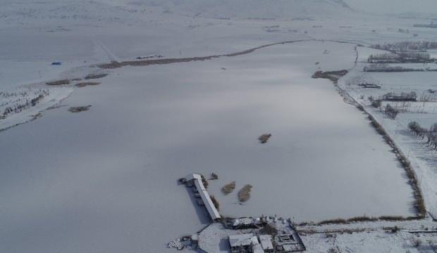 Sibirya soğukları Anadolu'da: Kent sıfırın altında 28 dereceyi gördü