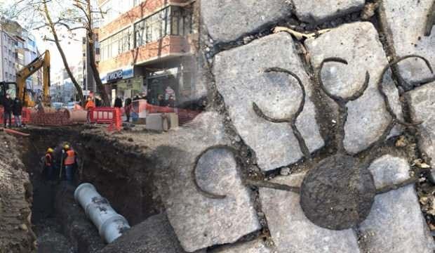 Trabzon'da altyapı çalışmaları sırasında Roma dönemine ait kalıntılara ulaşıldı!