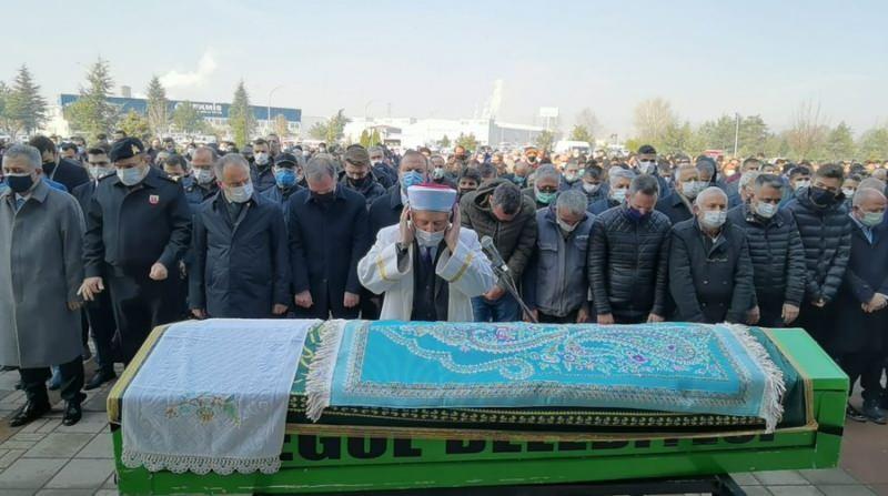Bursa İnegöl Belediye Lideri Taban'ın babası, son seyahatine uğurlandı