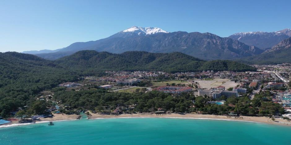 Antalya'nın gözde ilçesi 1 milyon turist ağırladı