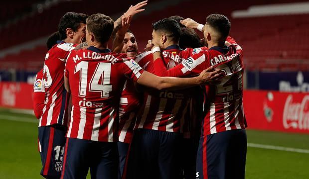 Atletico Madrid'den ligde üst üste 7. galibiyet!