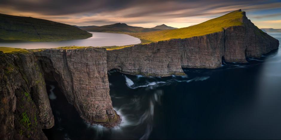 Dünyanın kuzey ucundaki Faroe Adaları'nda yer gök yeşil