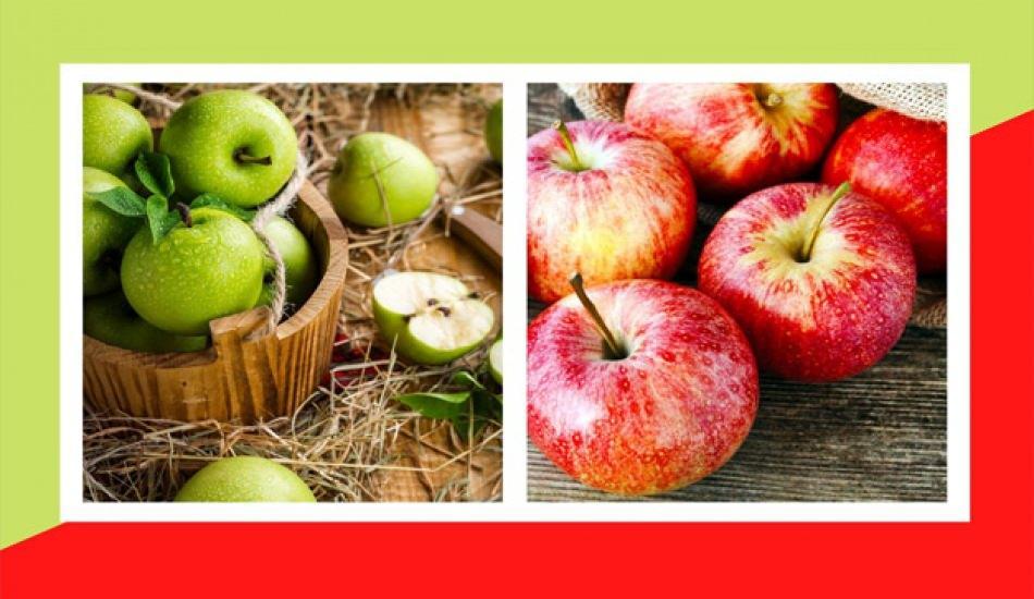 Yeşil ve kırmızı elma kilo aldırır mı? Ödem atan yeşil elma detoksu ile zayıflama