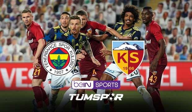 Fenerbahçe Kayserispor maçı canlı izle! BeIN Sports FB Kayseri maçı şifresiz canlı skor takip
