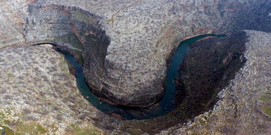 Habeş Kanyonu hem tarihi hem doğasıyla hayran bırakıyor
