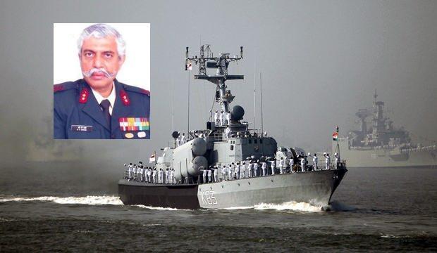 Hintli generalden Türkiye'ye Ege Denizi'nde savaş gemisi tehdidi