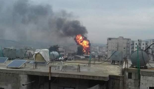 Afrin'de bomba yüklü araçla saldırı: 6 ölü, 25 yaralı