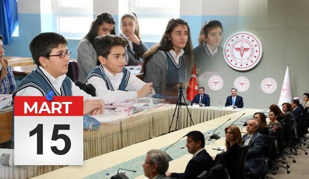 MEB okullar ne zaman açılacak? 15 Mart'ta kademeli olarak 5,8,9,12. sınıflar yüz yüze eğitim..