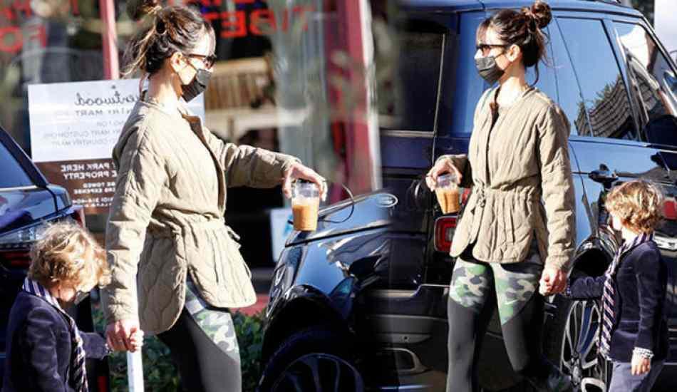 Ünlü oyuncu Jordana Brewster, başkasının aracına binmeye çalıştı