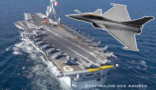 İmzalar atıldı: Yunanistan Fransa'dan 18 Rafale aldı! Charles de Gaulle Doğu Akdeniz'e iniyor