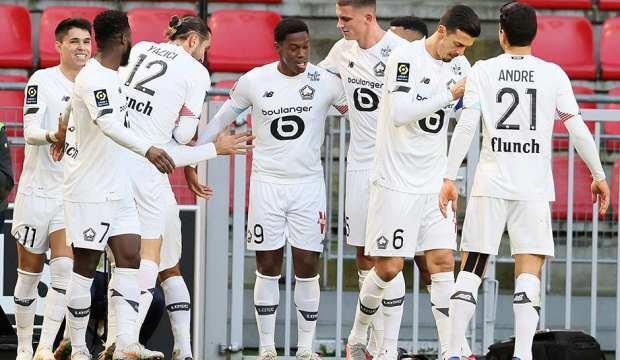 Lille, deplasmanda Rennes'i mağlup etti