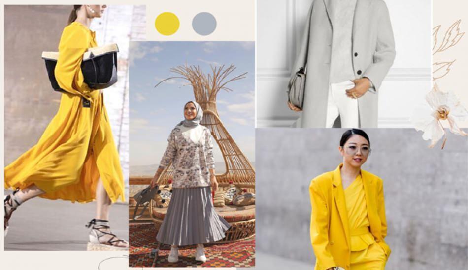 2021 yılının renkleri belli oldu: Pantone, ultimate gri ve canlı sarı'yı seçti!