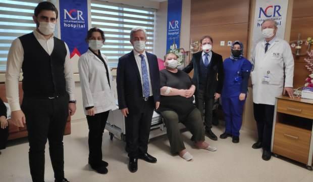 36 yaşında ve 280 kilo ağırlığında olan Aydın Kalkan tüp mide ameliyatıyla 248 kiloya düştü