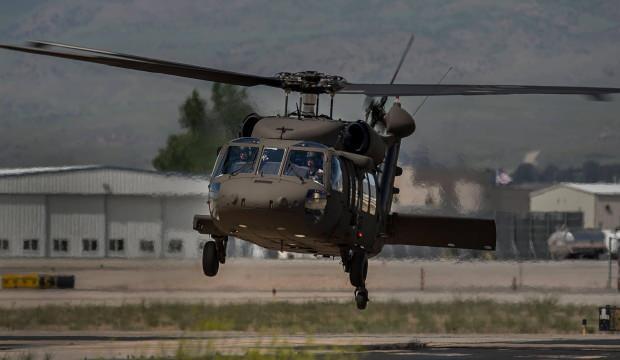 ABD'de Ulusal Muhafızları taşıyan helikopter düştü!
