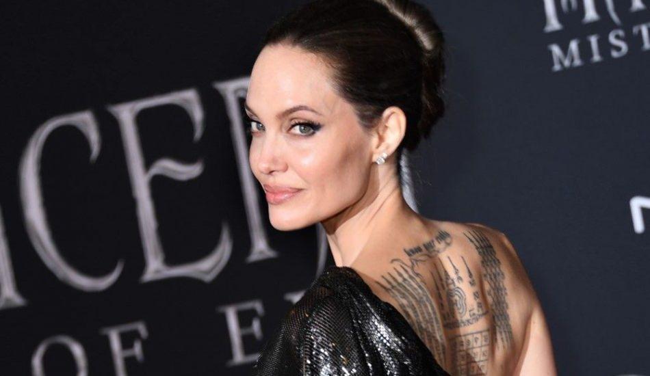 Dünyaca ünlü oyuncu Angelina Jolie, Churchill tablosunu satışa çıkardı