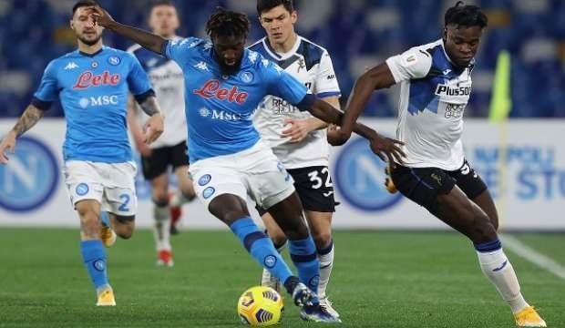 Napoli-Atalanta maçında gol sesi çıkmadı!