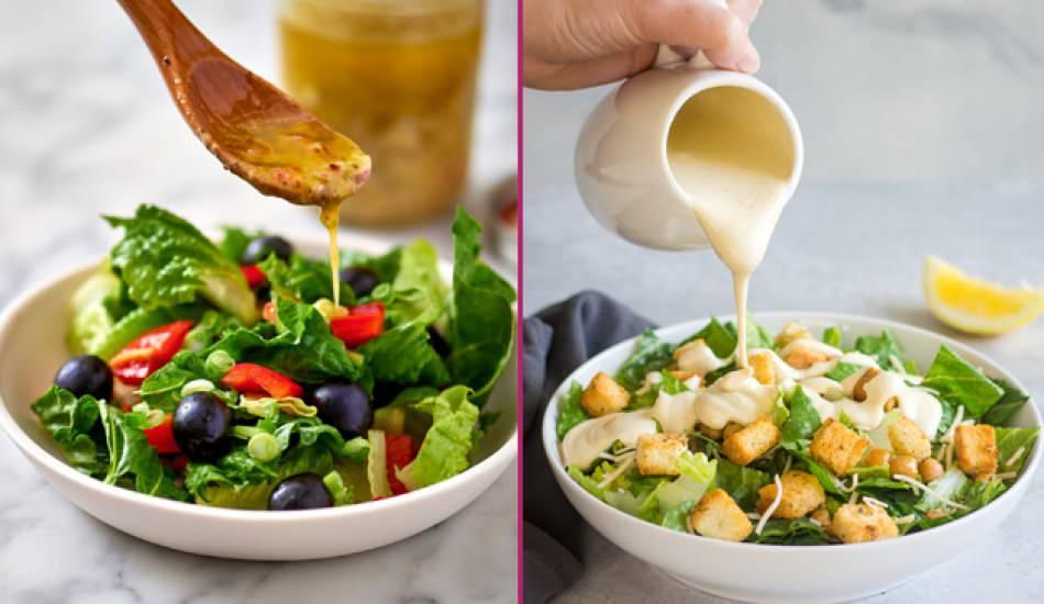 Salata sosu nasıl yapılır? En kolay salata sosu tarifi