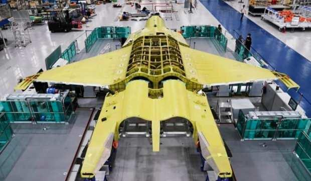 Güney Kore açıkladı: 'Canavar' savaş uçağı ortaya çıktı