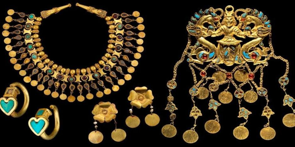 21 bin 145 saf altın parçadan oluşuyor! Paha biçilmez Baktriya hazinesi