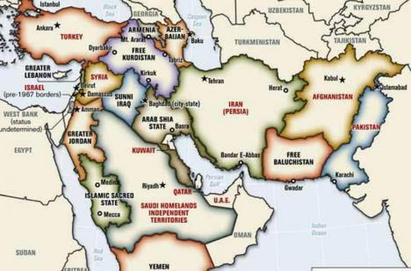 Strafor daha önce Türkiye'yi böldüğü bir harita yayınlamıştı