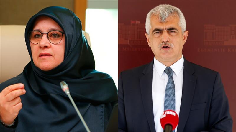 HDP milletvekilleri Hüda Kaya ve Ömer Faruk Gergerlioğlu