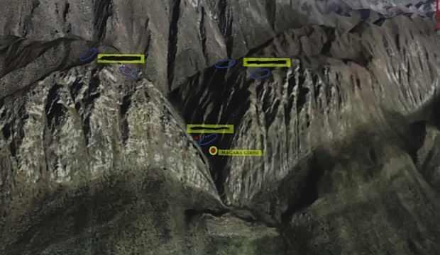 13 vatandaşımızın şehit edildiği mağaranın yerine dikkat!