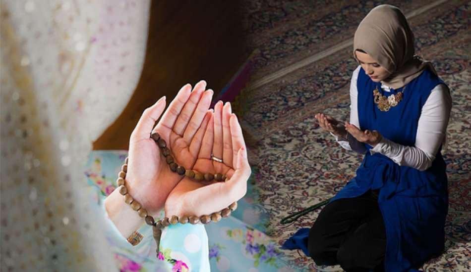 Adetli kadın hangi ibadetleri yapabilir? Adetliyken okunacak dualar ve zikirler