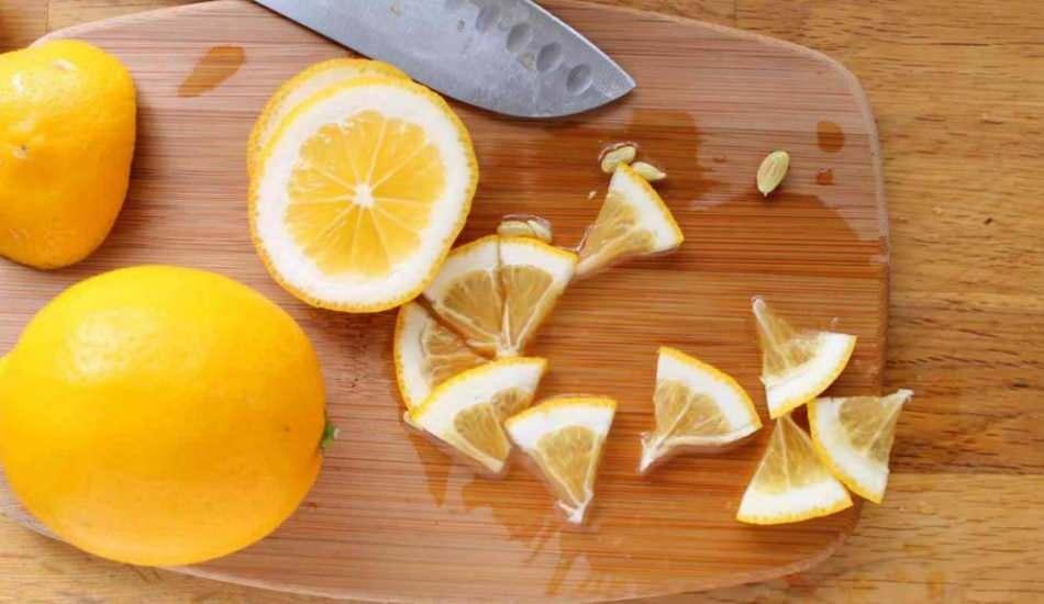 Limon nasıl doğranır? Limon doğramanın püf noktaları Trans limon nasıl kesilir