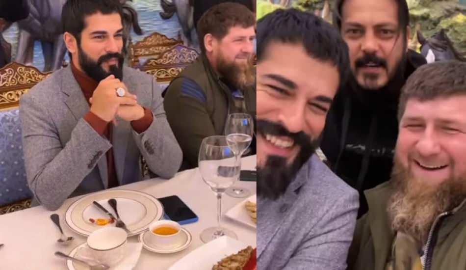 Kuruluş Osman ekibi Çeçenistan'da!