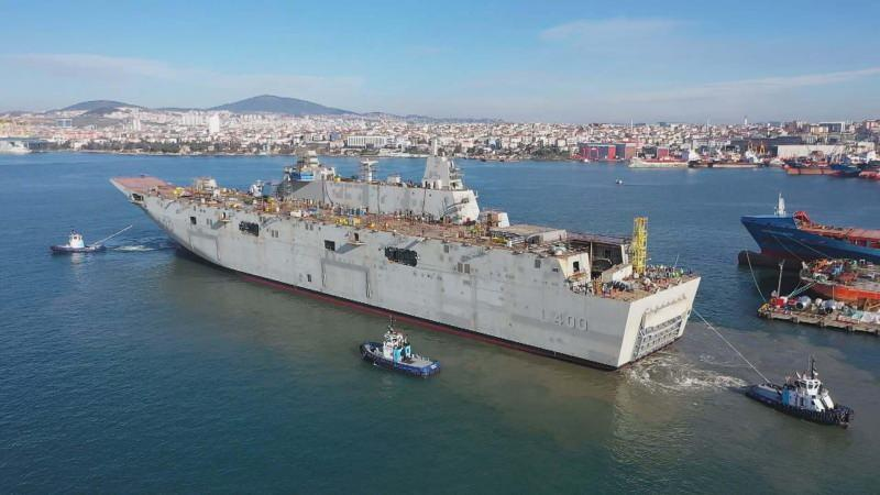 TCG Anadolu'nun (L400)