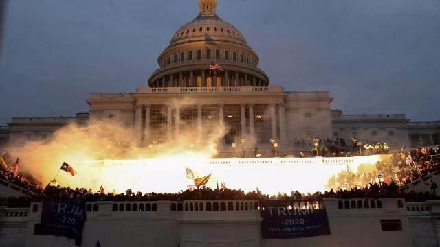 ABD Kongresine baskın