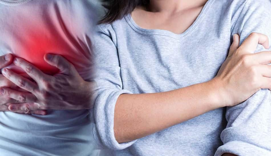 sol kolda uyusma kalp krizi habercisi