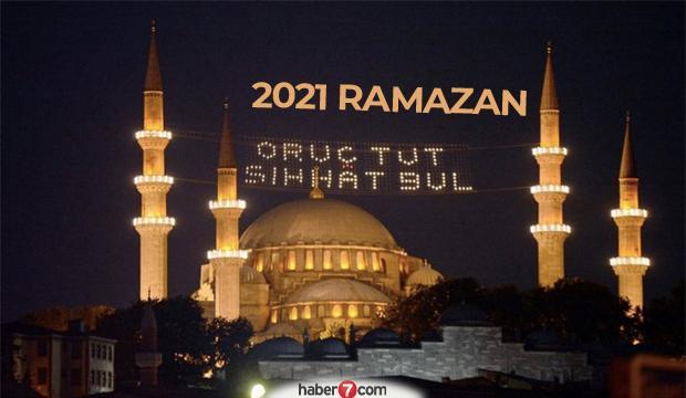 2021 Ramazan ne zaman başlıyor? Ramazan Bayramı tatili kaç gün?