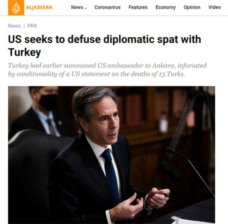 Al Jazeera: ABD Türkiye ile diplomatik atışmayı yatıştırmak için çabalıyor