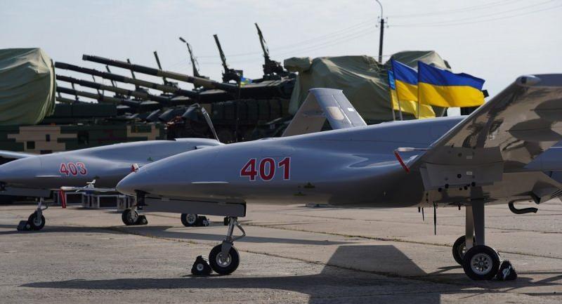 Ukrayna'nın satın aldığı bazı TB2'ler