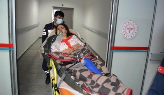Aksaray'da soba gazı nedeniyle 17 kişi, hastanelik oldu