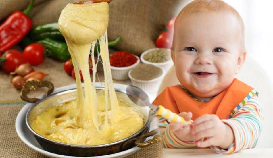 Bebeklere ne zaman kuymak verilir? Bebekler için kahvaltılık muhlama tarifi! Mısır unu maması