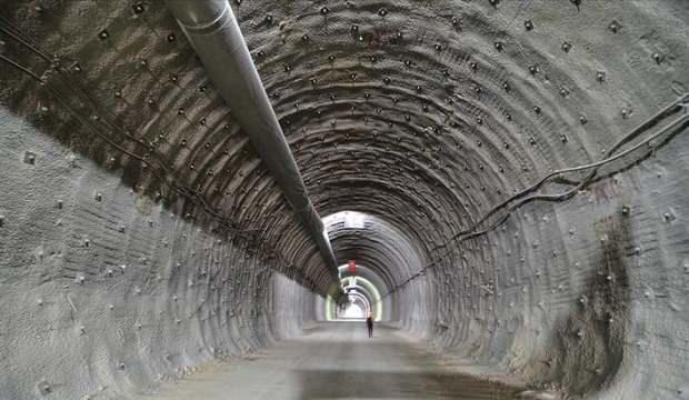 Çorum'da yapımı devam eden Kırkdilim Tünelleri'nde sona gelindi