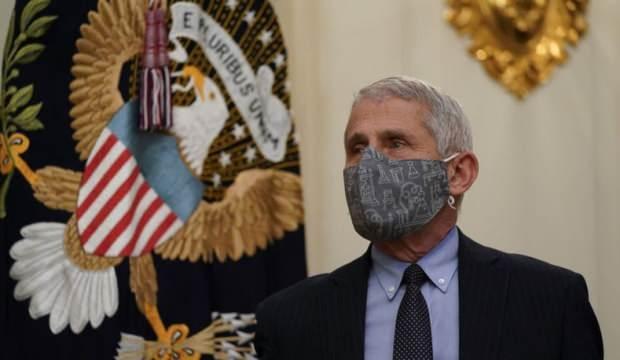 Dr. Anthony Fauci'den endişelendiren maske açıklaması!