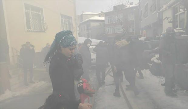 İstanbul'da korkutan anları! Sokağa döküldüler